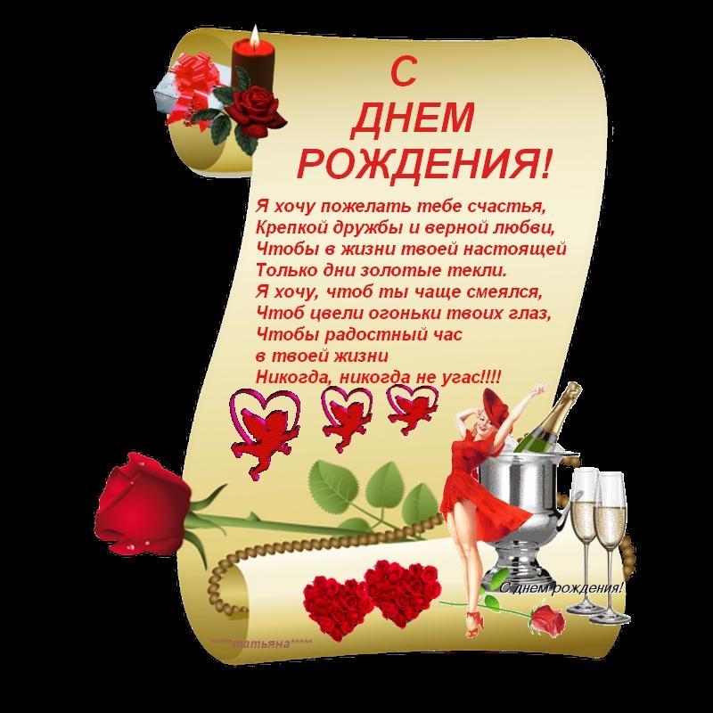 Поздравления с дне рождения любимому на украинском